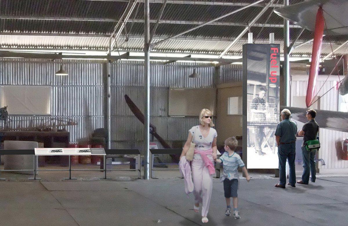 QANTAS: Exhibition Design